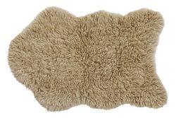 Teppich Woolable Woolly 75 x 110 cm | Beige