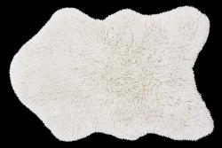 Teppich Woolable Woolly 75 x 110 cm | Weiß