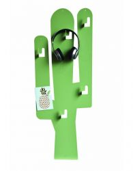 Magnetic Board | Cactus with Hooks Green L