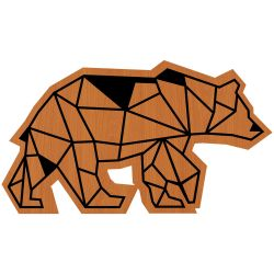 Wall Decoration Bear | Light Brown