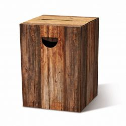 Papphocker | Holz