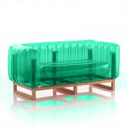 Canape Yomi Wood | Grün