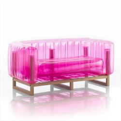 Canape Yomi Wood | Rosa