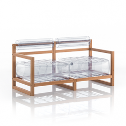 Canape Yoko Wood | Transparent
