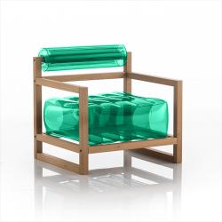 Sessel Yoko Wood | Grün