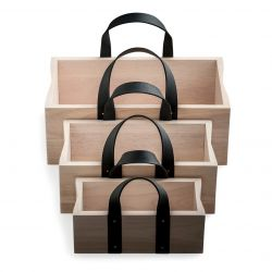 Wooden Boxes Set of 3