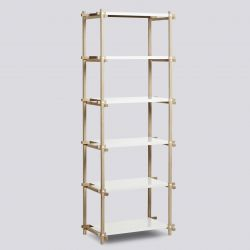 Woody Shelf Column High | White