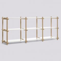 Woody Shelf Low | White