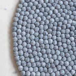 Round Rug | Steel Grey