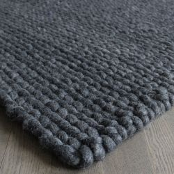 Rectangular Rug | Charcoal Grey