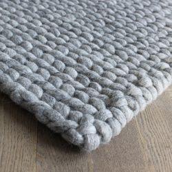 Rectangular Rug | Grey