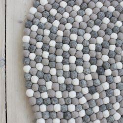 Round Rug | Light Grey