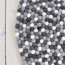 Round Rug | Natural Wool
