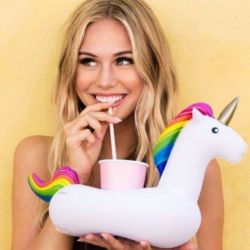 Inflatable Beverage Holder | Unicorn