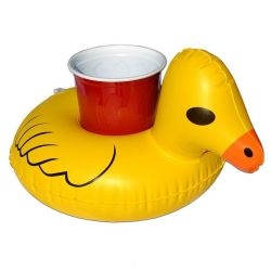 Inflatable Beverage Holder | Duck