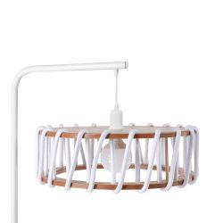 Stehleuchte Macaron 45 cm | Weiß / Weiß