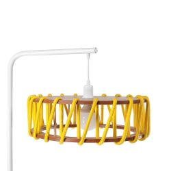 Stehleuchte Macaron Weiß 45 cm | Gelb