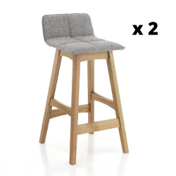 High Chair Varm Set of 2 | Grey