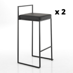 High Chair Dodo Set of 2 | Black