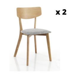 Dining Chair Varm Set of 2 | Wood