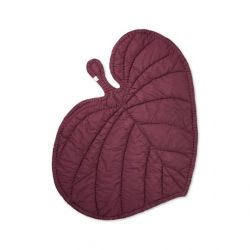 Blanket Leaf | Burgundy Red
