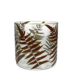 Glass Vase | Fern