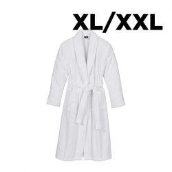 Peignoir Shawl Collar XL/XXL | Blanc