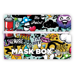 Gesichtsmasken-Box | Graffiti