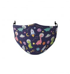 Face Mask Kids | Polyester | Space
