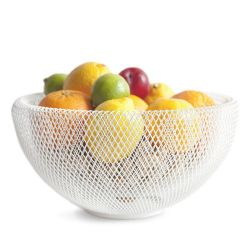 Coupe-Fruits/Abat-jour Nest | Blanc