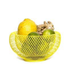 Coupe-Fruits/Abat-jour Nest | Jaune