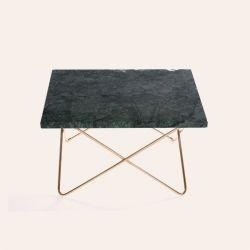 Square Coffee Table X-Small | Green Indio