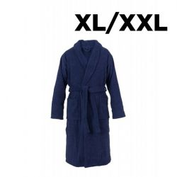 Schalkragen Bademantel XL/XXL | Navy