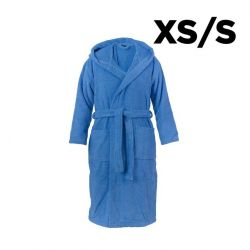 Bademantel Schalkragen XS/S | Aqua