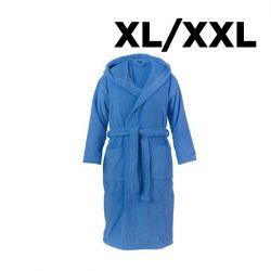 Bademantel Schalkragen XL/XXL | Aqua
