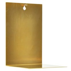 Wall Shelf | Brass