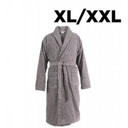 Shawl Collar Bathrobe XL/XXL | Anthracite