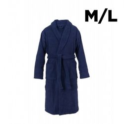 Shawl Collar Bathrobe M/L | Navy