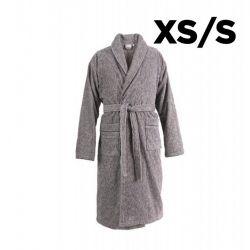 Bademantel Schalkragen XS/S | Anthrazit