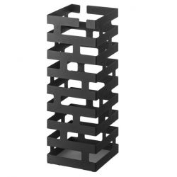 Umbrella Stand Square Brick | Black