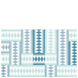 Vinyl Mat Tiles | Turquoise