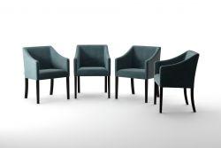4er-Set Esszimmerstühlen Illusion | Grun