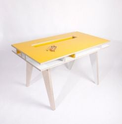 Kids desk Yellow
