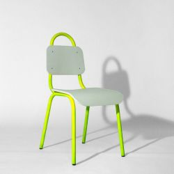 Dining Chair | Yellow & White