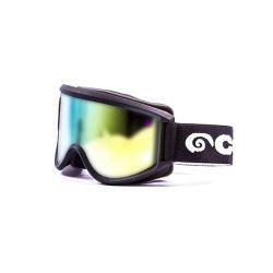 Snow Goggles Mammoth Unisex | Black Frame, Gold Lens