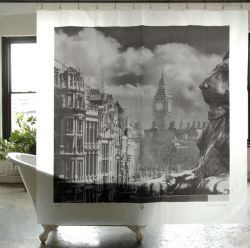 Trafalgar Square Shower Curtain