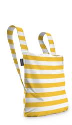 Notabag | Gelb/Weiß