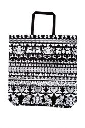 Large Bag Black/White