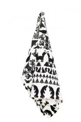 TeaTowel Black/White