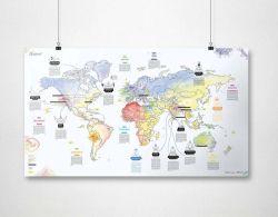 Carte du Monde | Yoga